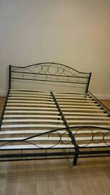 Super kingsize bed frame