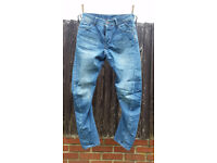 male trousers: metal rooster (free size), slouc jeans River Island (30/30)