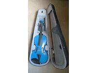 Archetto Violin - Electric Blue!