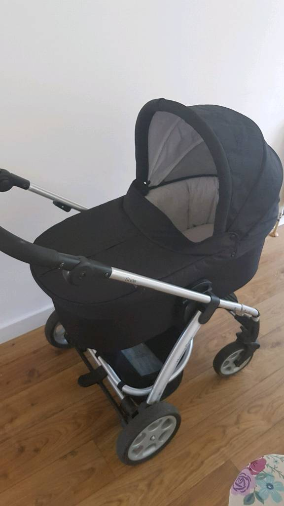 Mamas and Papas Glide Pram Pushchair with Car Seat and Accessories