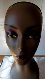 Model head for wig