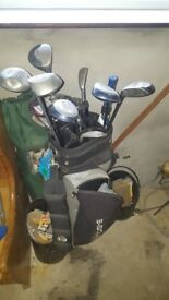 Golf Clubs & Bag. Reduced to 100 quid