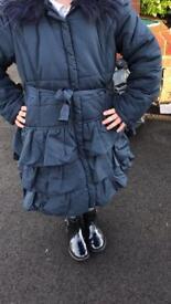 Monsoon coat 9-10 years