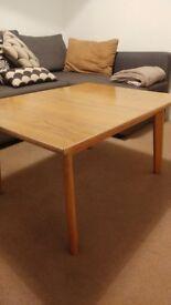 Scandinavian mahogany coffee table