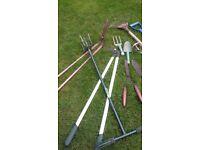 Garden tools assortment
