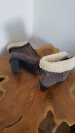 Unworn Clarks Boots
