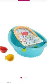 Fisher-Price rinse and grow baby bath