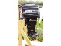 Mercury 25hp short shaft 2 stroke outboard engine