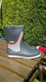 Gill Short Cruising Boots UK 10.5