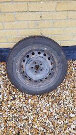 Toyota Avensis wheel & Firestone tyre - Firehawk TZ200 195/60R15 88H
