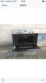 Delonghi double electric oven.