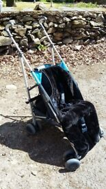 Mothercare Push Chair + Maclaren removable cover, lovely condition