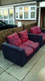 2x2seater sofas
