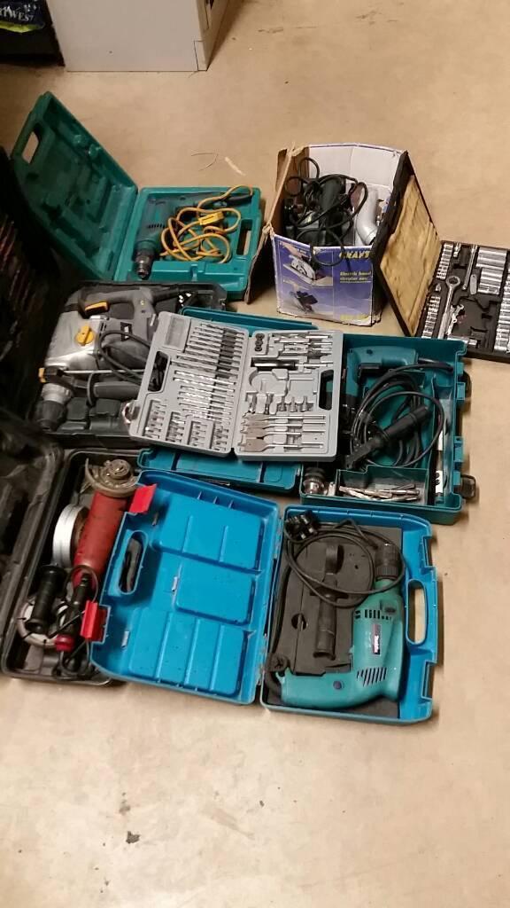 Power tools etc