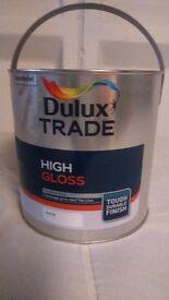 2.5ltr White Gloss For Wood & Metal