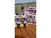 Girls Adjustable Roller Boots