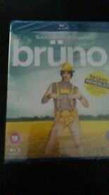 Bruno blu ray disc still sealed