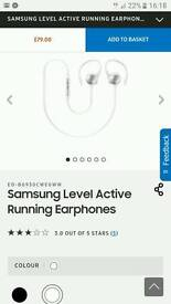 Brand New In Box Samsung level active head phones