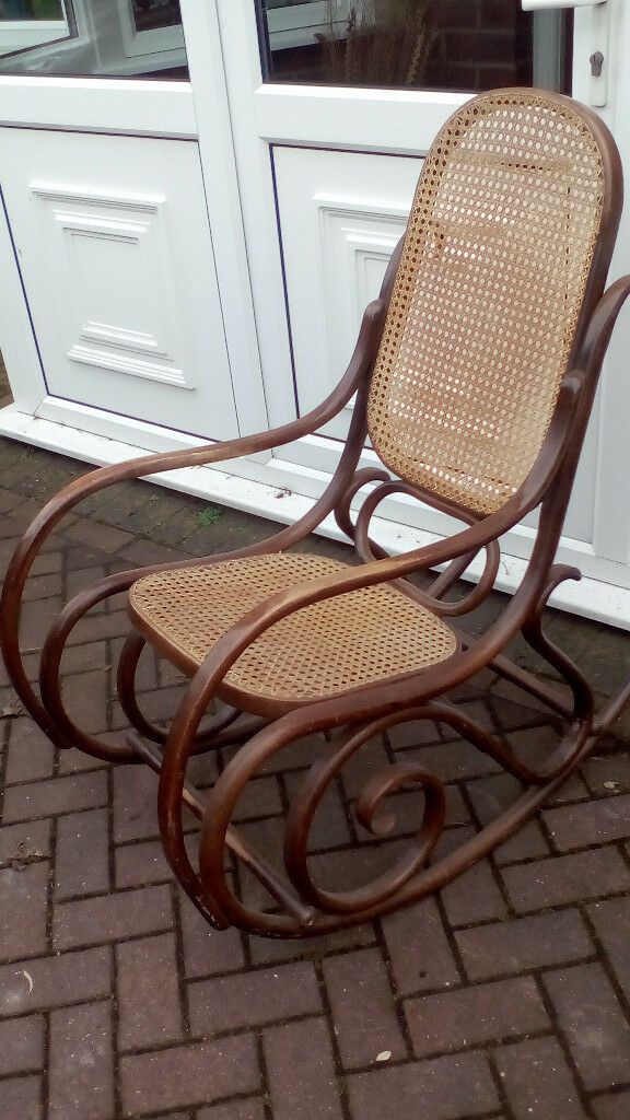 Wood And Wicker Rocking Chair In Great Barr West Midlands Gumtree