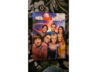 BIg bang theory dvd box set in excellent condition