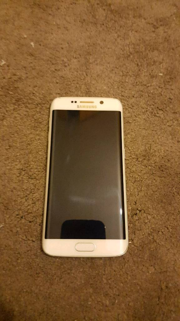 Samsung s6 edge unlocked white