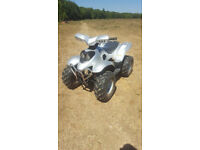 100cc 2 stroke quad yamaha no time wasters!