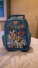 Toy story bag on wheels