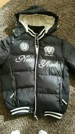 New jacket for man