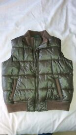 Boys Brown Body Warmer fits age 4-5 years