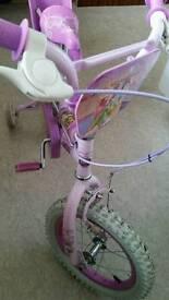 "14"" wheel lovely condition DISNEY PRINCESS BIKE"