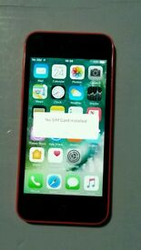 iPhone 5c 16gb ee Networks Pink