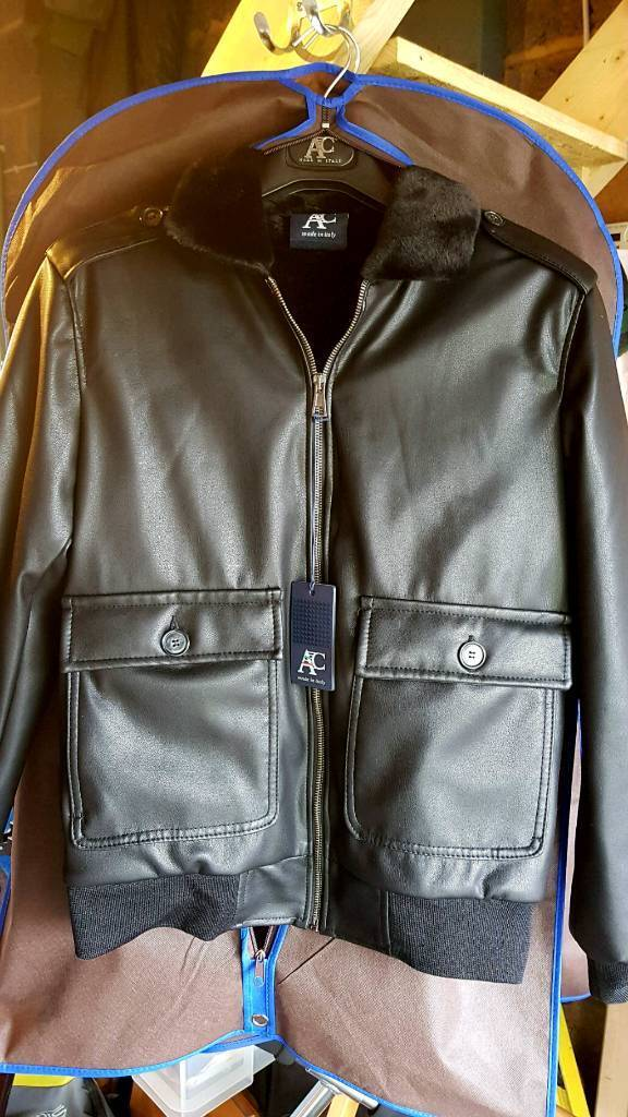 Three Luxury Mens Jackets Ac Made In Italy Size L In Guildford