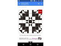 Harrow Grafito Victorian Ceramic Floor Wall Tiles, B&Q Wickes. 1.5 Square Metres