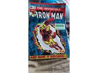 Iron man comic