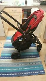 Graco evo stroller used