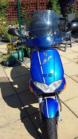 GILERA RUNNER FXR 180 SP 4690 miles blue/black