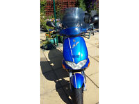 GILERA RUNNER FXR 180 SP 4690 miles blue/black