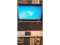 hp 6450b screen 14. inch cpu i5 4gb ram 500gb hdd webcam dvd-rw windows 7