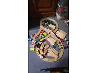 Biro Wooden Train Set,