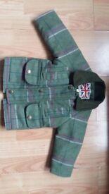 9-12 months wool coat