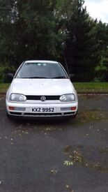 1997 Volkswagen Golf Mk3 1.4 - Good clean reliable car with MOT