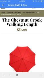 James Smith & Sons Walking length umbrella (original price 85 pounds)