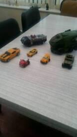7 x transformer toys