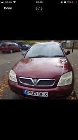 Vauxhall Vectra 2003 Automatic
