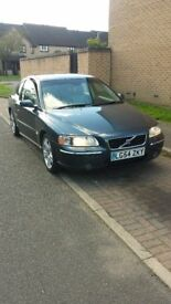 VOLVO S60 D5 AUTO 11 MONTHS MOT AND TAXED VERY CLEAN AND TIDY EXAMPLE £950 ONO