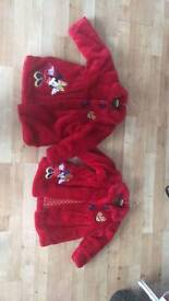 Girls minnie mouse coats