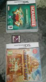 3 x Nintendo ds games . £8