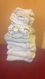Baby towels and muslin cloths