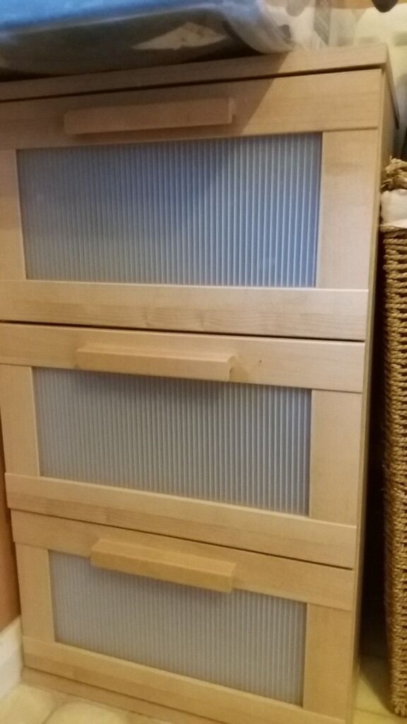 Ikea Aneboda chest of drawersin Northampton, NorthamptonshireGumtree - Hi. I have this Aneboda chest of 3 drawers from ikea for sale. Will need some attention. Please check the pictures. Collection from east hunsbury can delivery locally for petroll
