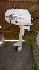 Johnson 2HP Short Shaft Outboard